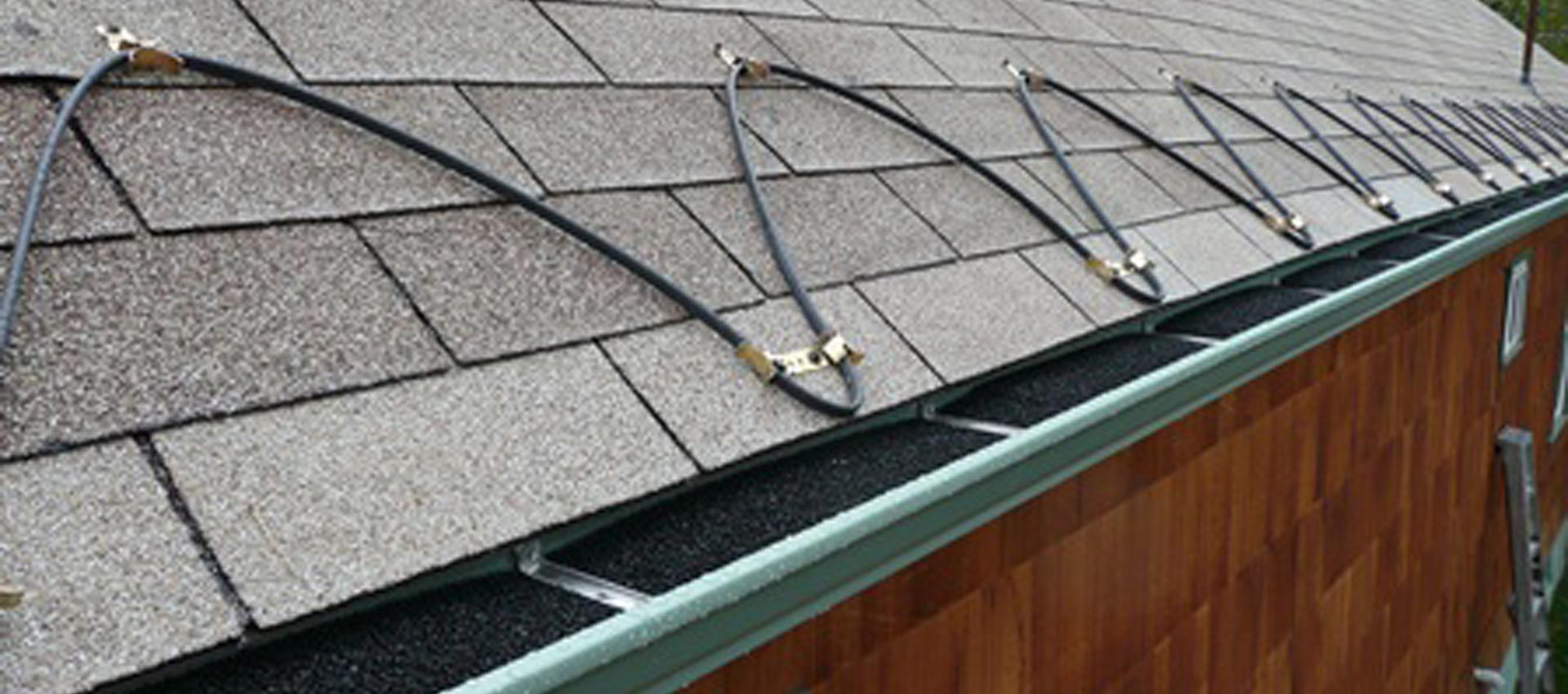 Heat Tape Gutter Deicing Titan Gutters